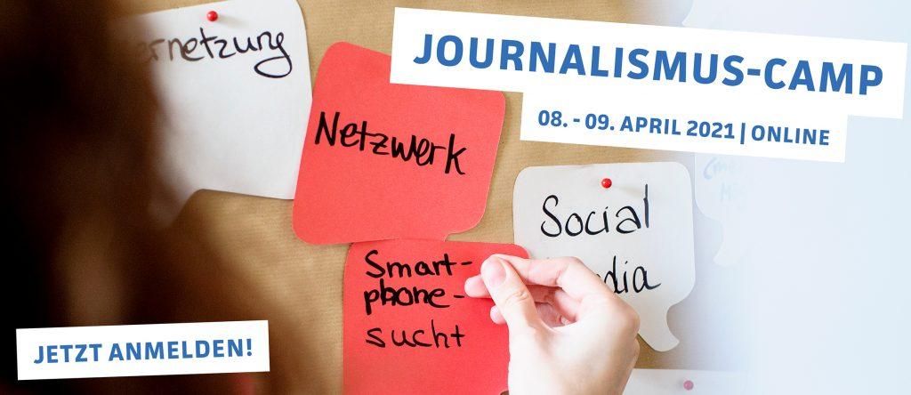Journalismus-Camp: 08. - 09.04.2021
